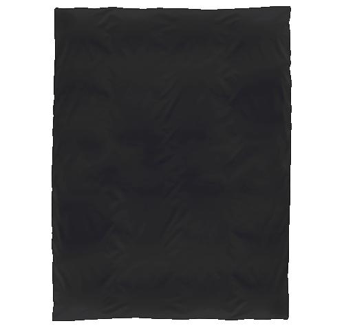 Duvetbezug, schwarz
