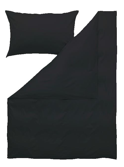 Kissenbezug, schwarz
